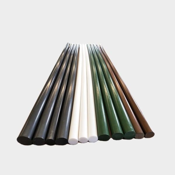Insulating teflon ptfe round bar / ptfe rod