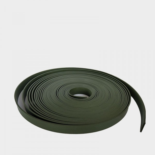 Green ptfe bronze wear strip